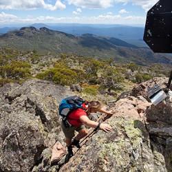 Summit of Mt Cobberas (1835m)