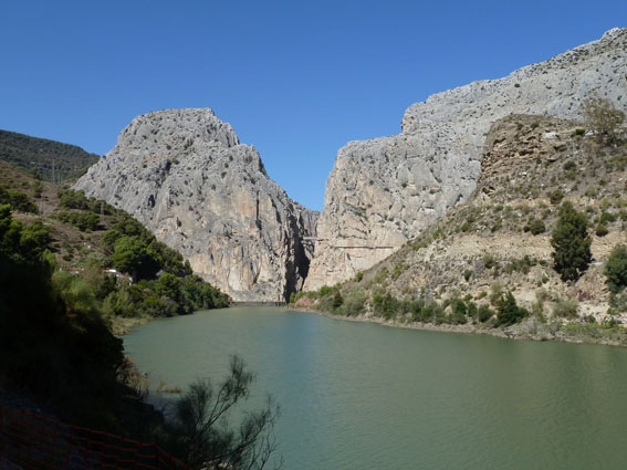 Gorge at El Chorro Camino del Rey